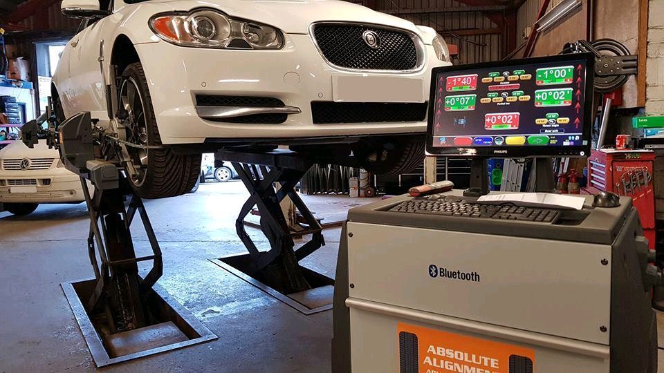 Absolute Alignment provides wheel alignment equipment for workshops throughout the UK