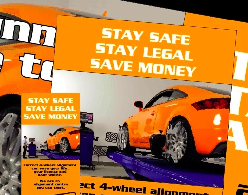 Stay dafe, stay legal and save money with professional 4-wheel alignment